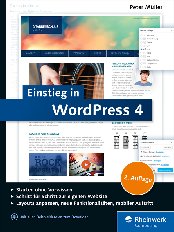 Einstieg in WordPress (Cover)
